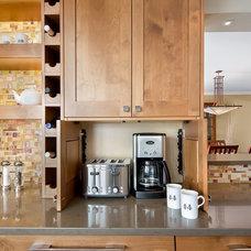 Craftsman Kitchen by JJ Interiors