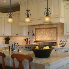 Traditional Kitchen by 1STOPlighting