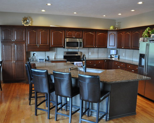 kitchen design remodel golden oak cabinets ideas pictures remodel and decor 1331