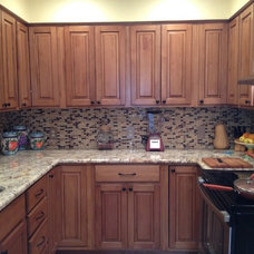 Modern Kitchen by Glass Tile Store
