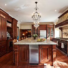 Traditional Kitchen by David Giral Photography