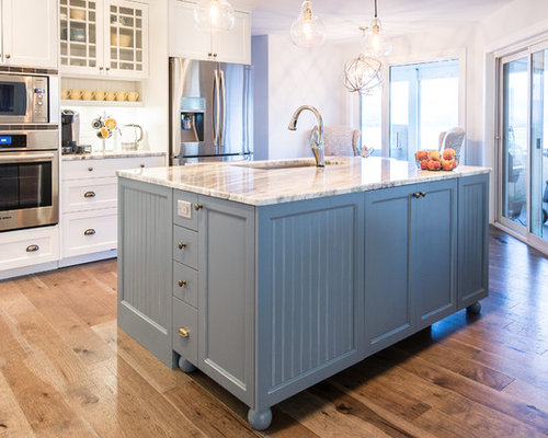 kitchen cabinets islands kitchen design ideas renovations amp photos with blue cabinets 3043