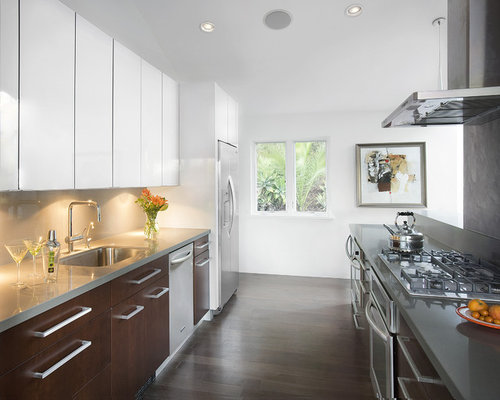 brown kitchen cabinets white and brown kitchen houzz 12563