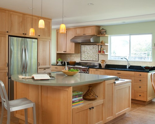 Light Wood Cabinets | Houzz