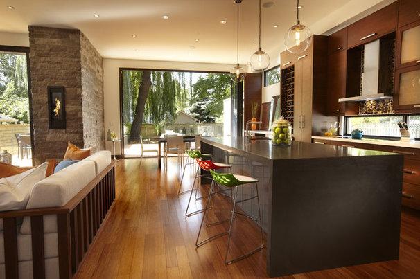 Modern Kitchen by En2 Development Corp