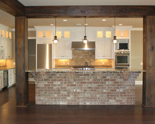 Brick Island Ideas Pictures Remodel And Decor