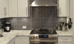 Gorgeous Gray & White Kitchen