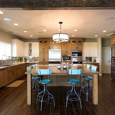 Rustic Kitchen by The Galley Collection