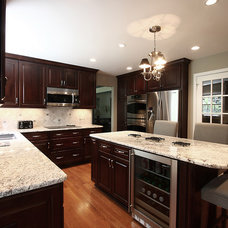 contemporary kitchen by NVS Remodeling & Design
