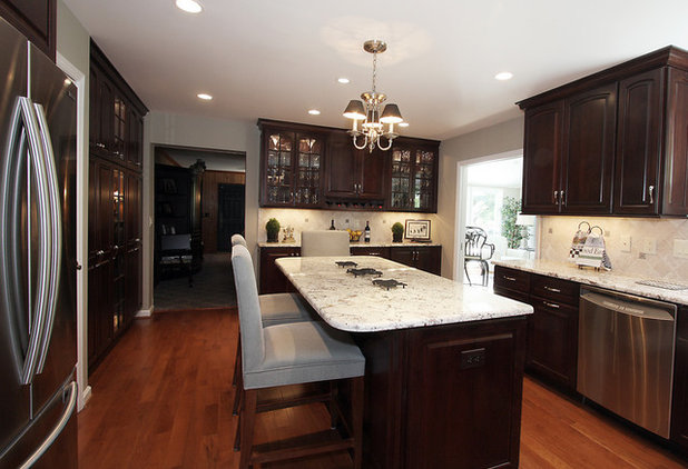 Contemporary Kitchen by NVS Kitchen and Bath