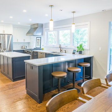 Gorgeous Open Kitchen in Glenview, IL.