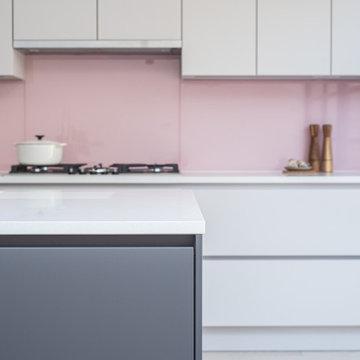 Gorgeous Pink Splashback