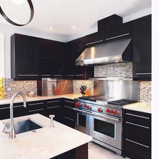 Contemporary Kitchen by diane lawson designs