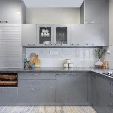 Gorgeously Grey Kitchen Revamp