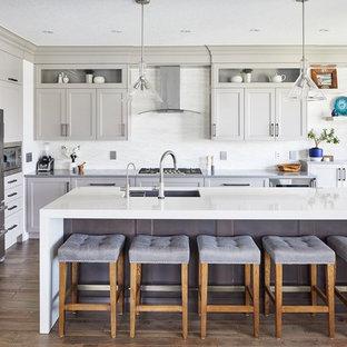 White Kitchen Backsplash Ideas Houzz