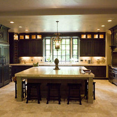 Mediterranean Kitchen by R.S. Stapleton Company - Custom Cabinetry