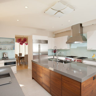 Merveilleux Inspiration For A Contemporary Kitchen Remodel In Other With An Undermount  Sink, Quartz Countertops,