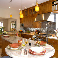 Eclectic Kitchen by Hamilton-Gray Design, Inc.