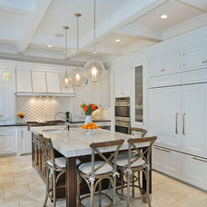 Transitional Kitchen by Newgard Custom Homes