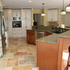 Traditional Kitchen by Design Build Remodeling Group of Maryland