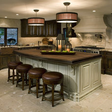 Mediterranean Kitchen by Venture One Design, Inc.