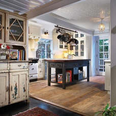 Eclectic Kitchen by CCH Design Inc.