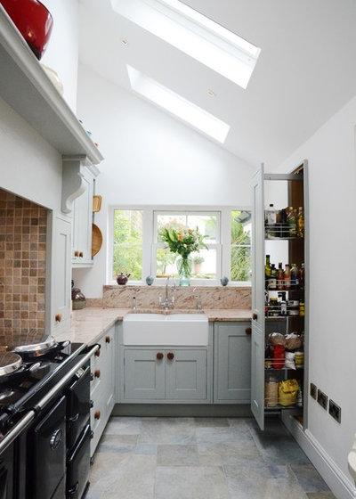 American Traditional Kitchen by Susie Hammond Design