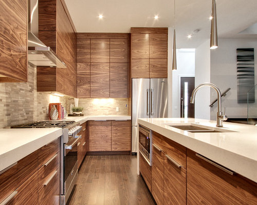Best Wood Grain Cabinet Design Ideas & Remodel Pictures | Houzz