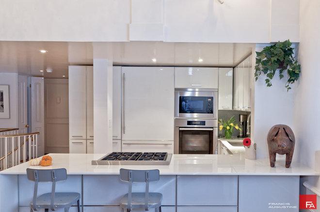 Contemporary Kitchen by Marie Burgos Design