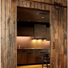 Rustic Kitchen by Narofsky Architecture + ways2design