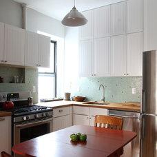 Eclectic Kitchen by Maletz Design