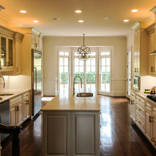 Transitional Kitchen by Flawless Painting