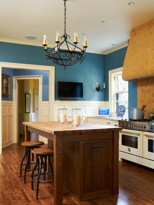 Blue Kitchen Walls Houzz