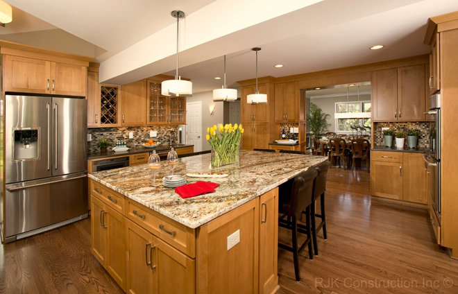 Contemporary Kitchen by RJK Construction Inc
