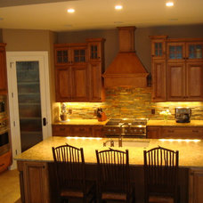 Traditional Kitchen by Anthony Company Builders LLC