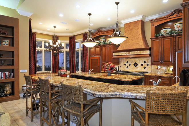 Mediterranean Kitchen by Bella Luna Services, Inc.