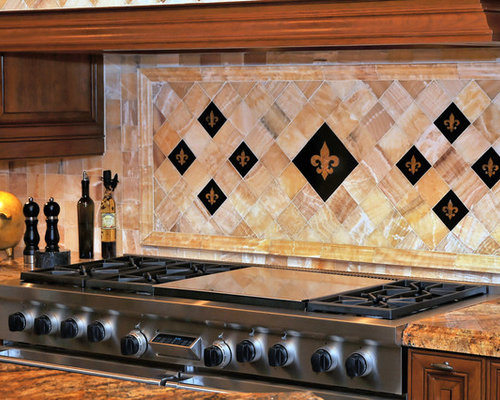 Houzz Fleur De Lis Backsplash Design Ideas Amp Remodel