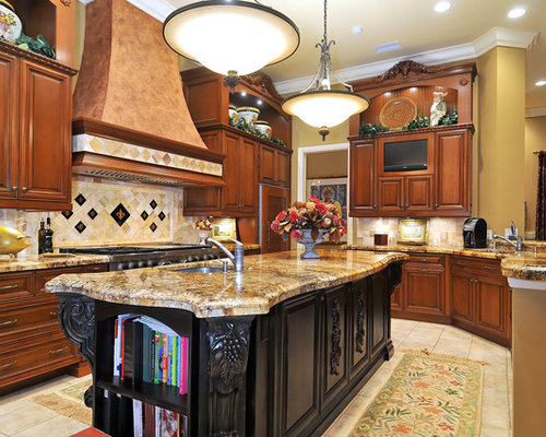 amarone granite island ideas pictures remodel and decor