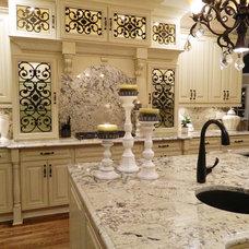 Traditional Kitchen by International Stone & Design