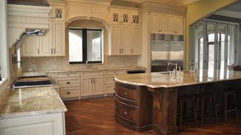 Grand Kitchen with a French Country Flair