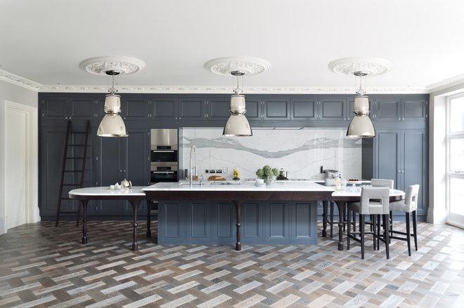 Transitional Kitchen by Cochrane Design
