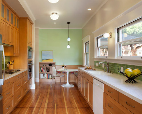 L Shaped Galley Kitchen Home Design Ideas, Pictures, Remodel and Decor