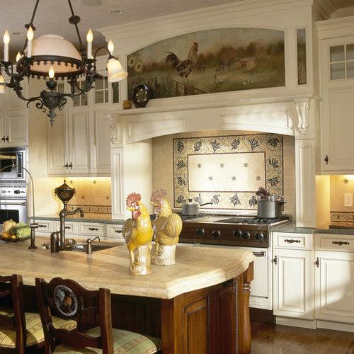 cuisine victorienne avec une cr dence en pierre calcaire photos et id es d co de cuisines. Black Bedroom Furniture Sets. Home Design Ideas