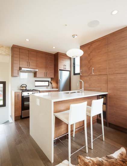 Contemporary Kitchen by Novell Design Build