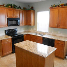 Traditional Kitchen by Fireplace & Granite Distributors