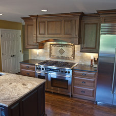 Traditional Kitchen by Northwest Granite & Marble