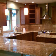 Traditional Kitchen by Tackett Custom Homes