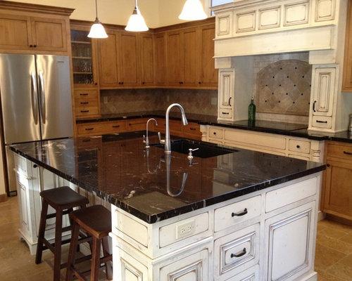 Titanium Granite Countertop Home Design Ideas, Pictures, Remodel and Decor