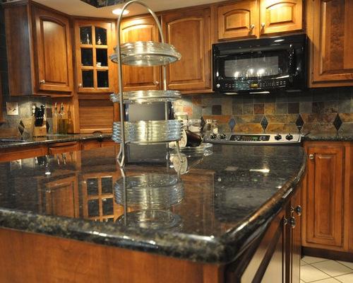 SaveEmail. Granite Countertops and Tile Backsplash Ideas