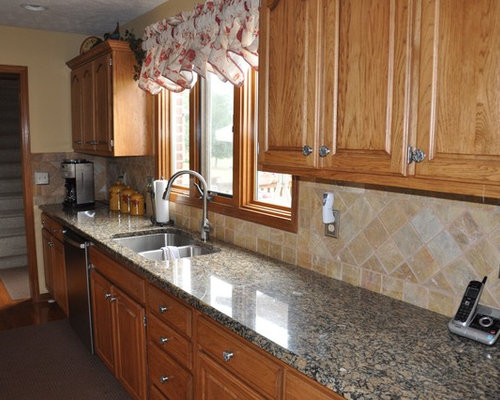 granite countertop and tile backsplash ideas